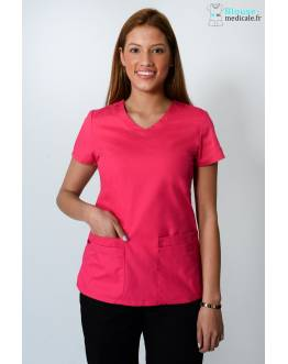 Tunique Medicale Dickies Femme Rose 85906