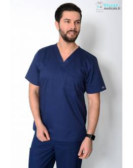 Tunique Medicale Homme Cherokee Bleu Marine 4743