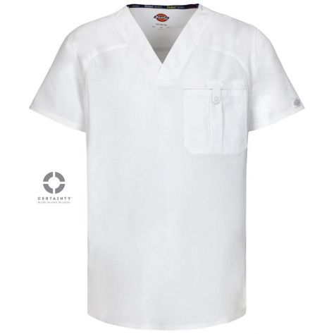 Blouse Dickies Medical Antimicrobienne Homme Blanc 81714A