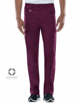 Pantalon Antimicrobien Dickies Medical Bordeaux 81111A