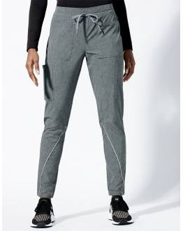 "Pantalon Jaanuu ""Charge Cargo Drawcord Pant"" Gris Clair Collection Arya"