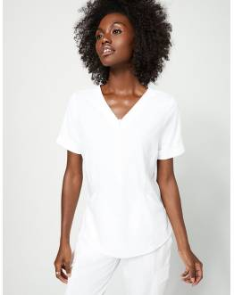 "Tunique Jaanuu ""Relaxed Cuff Sleeve Top"" Blanc Collection Hudson"