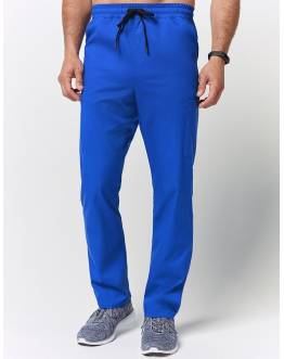 "Pantalon Homme ""Straight Leg Drawstring Pant"" Bleu Royal"