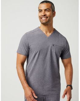 "Tunique Jaanuu Homme ""Refined V-Neck Top"" Gris"