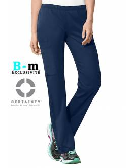 Pantalon Medical Cherokee Antimicrobien Femme Bleu Marine 44200A