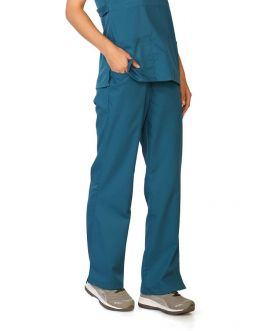 Pantalon Medical Femme Life Threads 1120 Bleu Caraibe