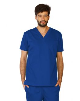 Tunique Medicale Homme Life Threads 3110 Bleu Royal