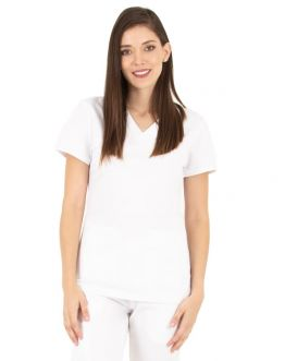 Tunique Medicale Femme Life Threads 1416 Blanc