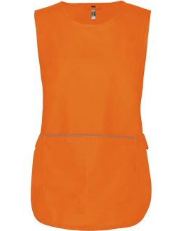 Tablier Chasuble de travail Femme K822 Orange
